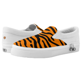 Tiger Stripe slip on sneaker Printed Shoes
