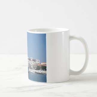 Tiger Striped Yacht Coffee Mug