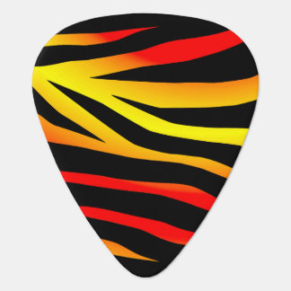 Tiger Stripes Animal Print Guitar Pick