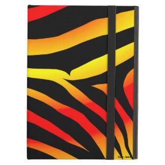 Tiger Stripes Animal Print Pattern iPad Case