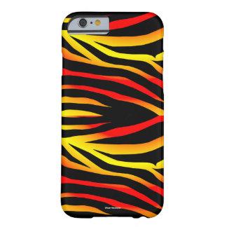 Tiger Stripes Animal Print Pattern iPhone Case