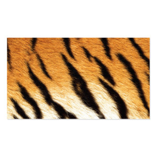 Tiger Stripes Pack Of Standard Business Cards