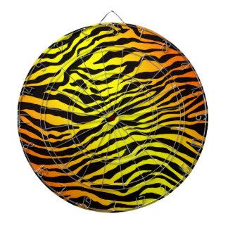 Tiger Stripes Dartboard