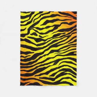 Tiger Stripes Fleece Blanket