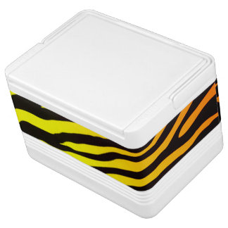 Tiger Stripes Igloo Cool Box