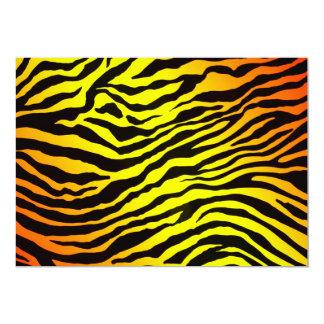 Tiger Stripes Invitation