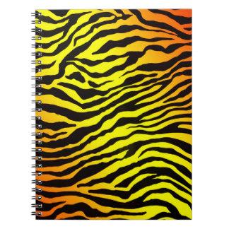 Tiger Stripes Notebook