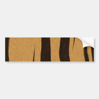 Tiger Stripes Pattern. Bumper Sticker