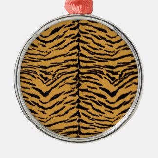 Tiger Stripes Pattern Christmas Ornament