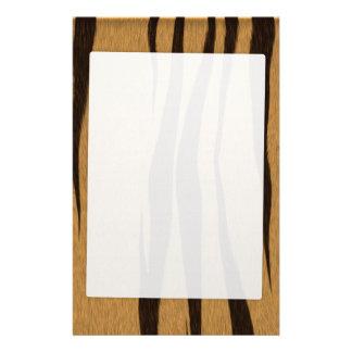 Tiger Stripes Pattern Stationery