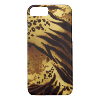 Tiger Stripes Safari Pattern iPhone Case