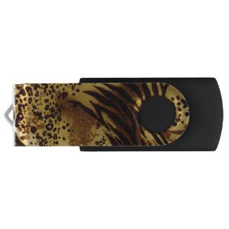 Tiger Stripes Safari Print USB Flash Drive