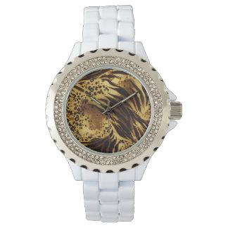 Tiger Stripes Safari Print Watch