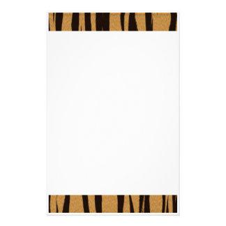 Tiger Stripes Stationery