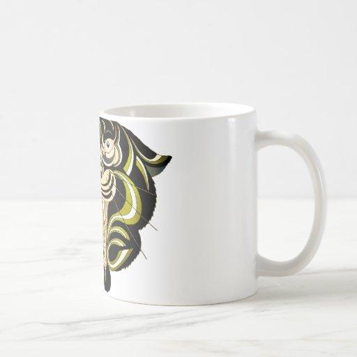 Tiger Style 1 Basic White Mug