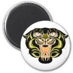 Tiger Style 1 Fridge Magnet