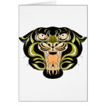 Tiger Style 1 Greeting Card
