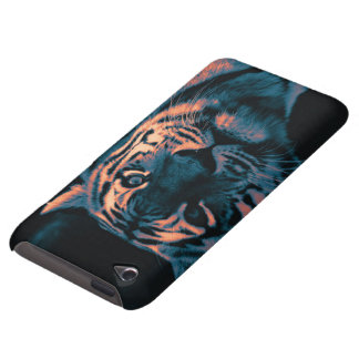 tiger,sunset iPod touch Case-Mate case