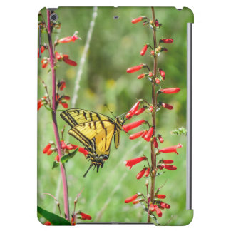 Tiger Swallowtail Butterfly and Wildflowers