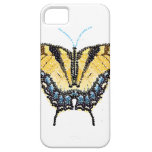 Tiger Swallowtail Butterfly Bedazzled iPhone 5 Covers