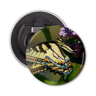 Tiger Swallowtail Butterfly Magnet Bottle Opener