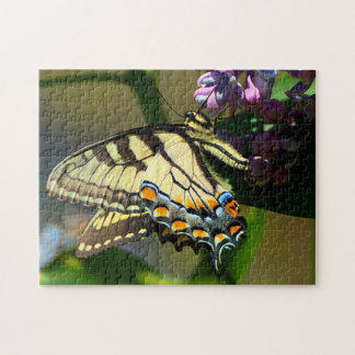 Tiger Swallowtail Butterfly on Lilac Puzzle