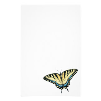 Tiger Swallowtail Butterfly Stationery