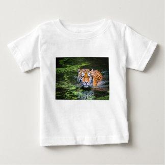 Tiger Swimming Baby T-Shirt