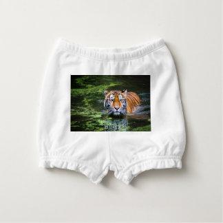 Tiger Swimming Nappy Cover