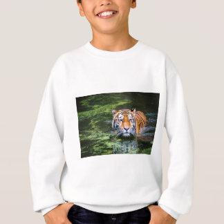 Tiger Swimming Sweatshirt