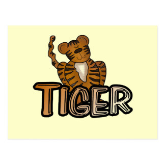 Tiger T-shirts and Gifts Post Card