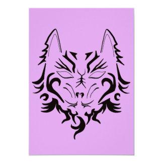 tiger tattoo design for invitation cards