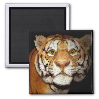 Tiger, Tiger In The Night II Magnet