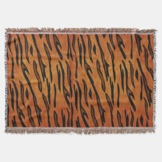 TIGER TIGER THROW BLANKET