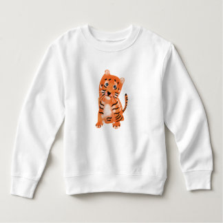 Tiger Toddler Fleece Sweatshirt