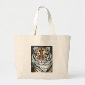 Tiger Totebag Large Tote Bag