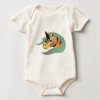Tiger Unicorn cute! Baby Bodysuit