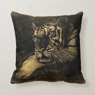 Tiger Vintage Pillow