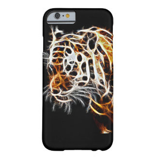 tiger warped effect phone case