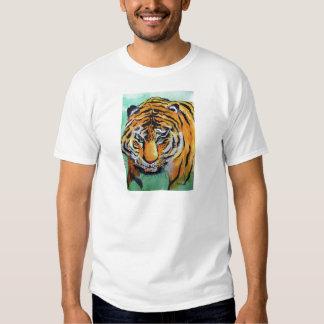 Tiger Watercolor Tshirts