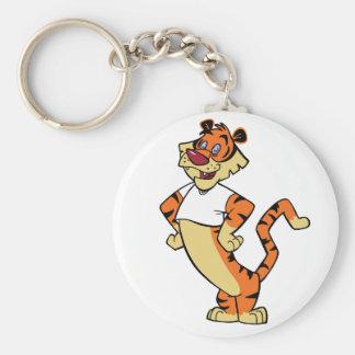 Tiger - White Mascot Keychain