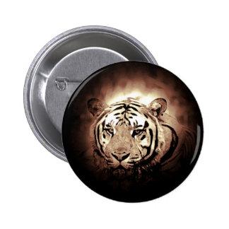 Tiger - Wild Big Cat 6 Cm Round Badge