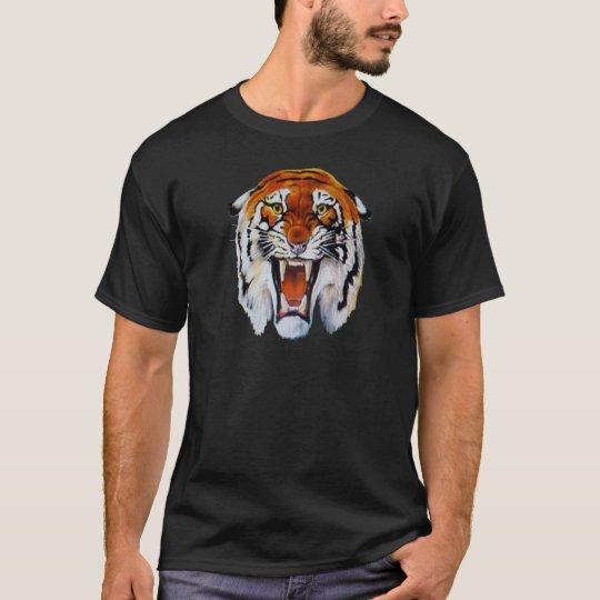 Tiger wild cat fierce sharp teeth thangs T-Shirt