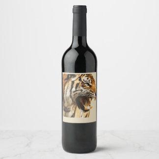 tiger wine label