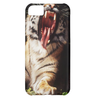 Tiger with mouth open iPhone 5C case
