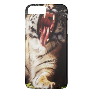 Tiger with mouth open iPhone 8 plus/7 plus case