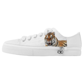 Tiger Zipz Low Top Shoes Printed Shoes