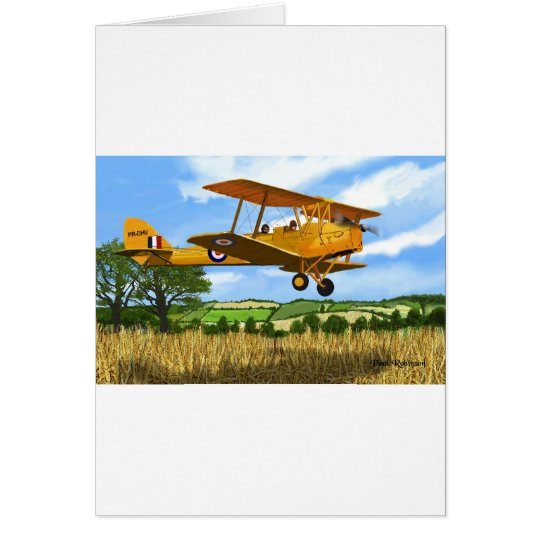 TIGERMOTH FIELDS CARD