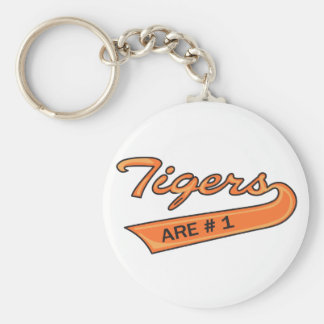 Tigers Are #1 Keychains