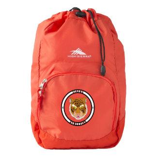 Tigers Athletics High Sierra Backpack, Red Backpack